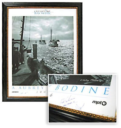 9: SIGNED FRAMED POSTER, VOLVO OCEAN RACE