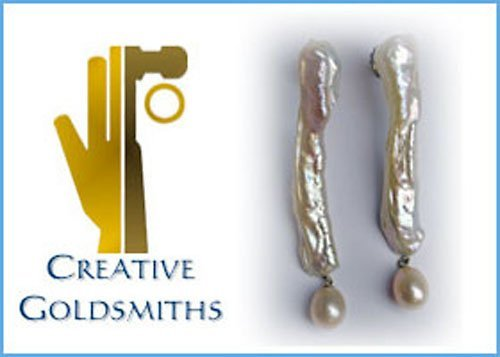 13: PINK CHINESE FRESH WATER PEARL EARRINGS