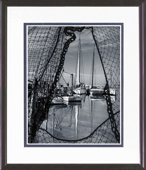 15: FRAMED PHOTO LIMITED EDITION  BODINE REPRINT