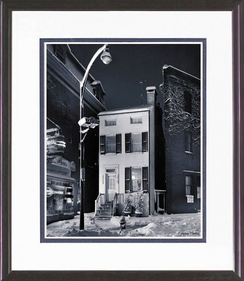 16: FRAMED PHOTO LIMITED EDITION BODINE REPRINT