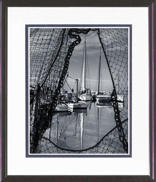 112: FRAMED PHOTO LIMITED EDITION  BODINE REPRINT