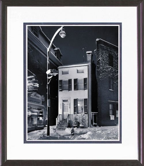 113: FRAMED PHOTO LIMITED EDITION BODINE REPRINT