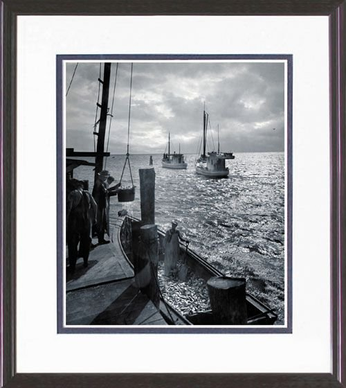 114: FRAMED PHOTO LIMITED EDITION BODINE REPRINT