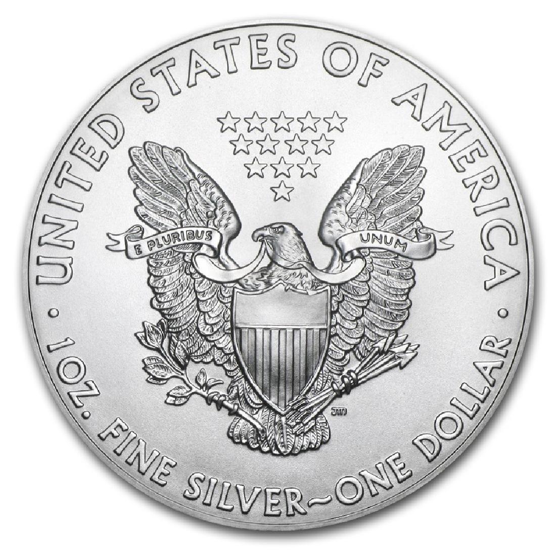2017 1 oz American Eagle Silver Coin - 2