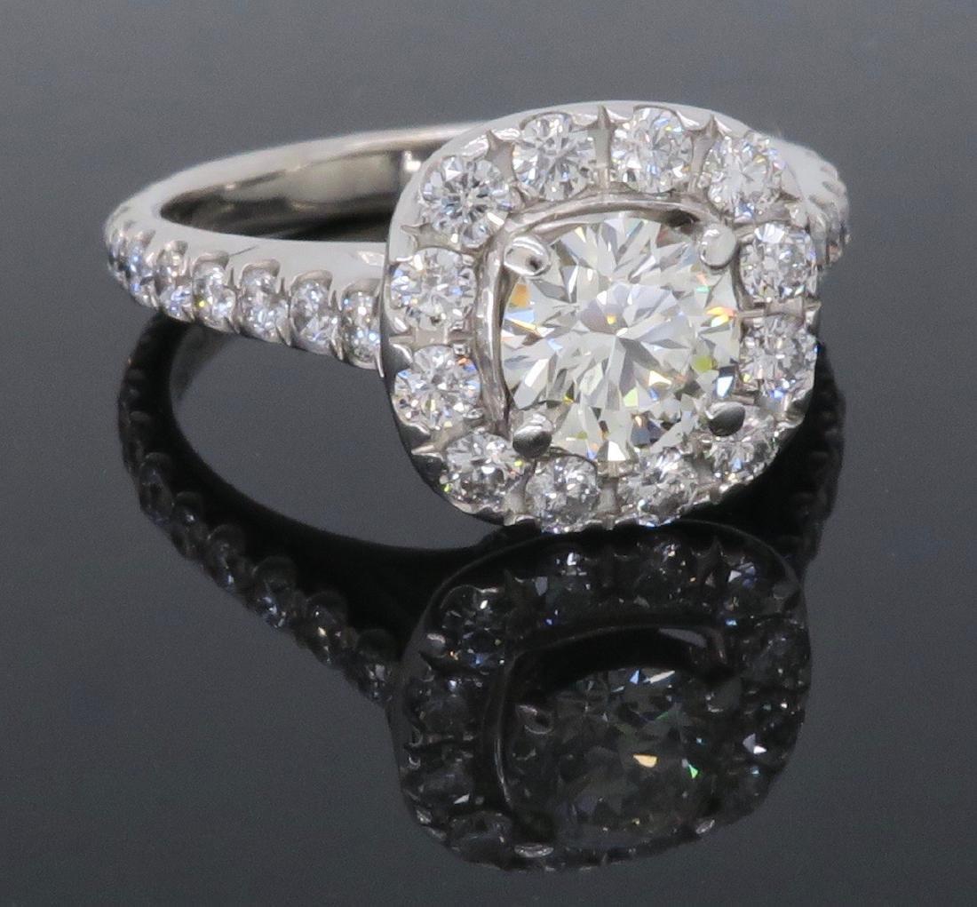 14KT White Gold Neil Lane 1.15ctw Diamond Ring