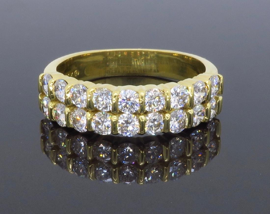 18KT Yellow Gold 1.26ctw Diamond Ring