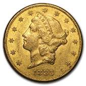 1883S 20 Liberty Head Double Eagle Gold Coin