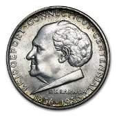 1936 Bridgeport Connecticut Commemorative Silver Half