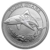 2016 Australia Tiger Shark 12 oz Silver Coin