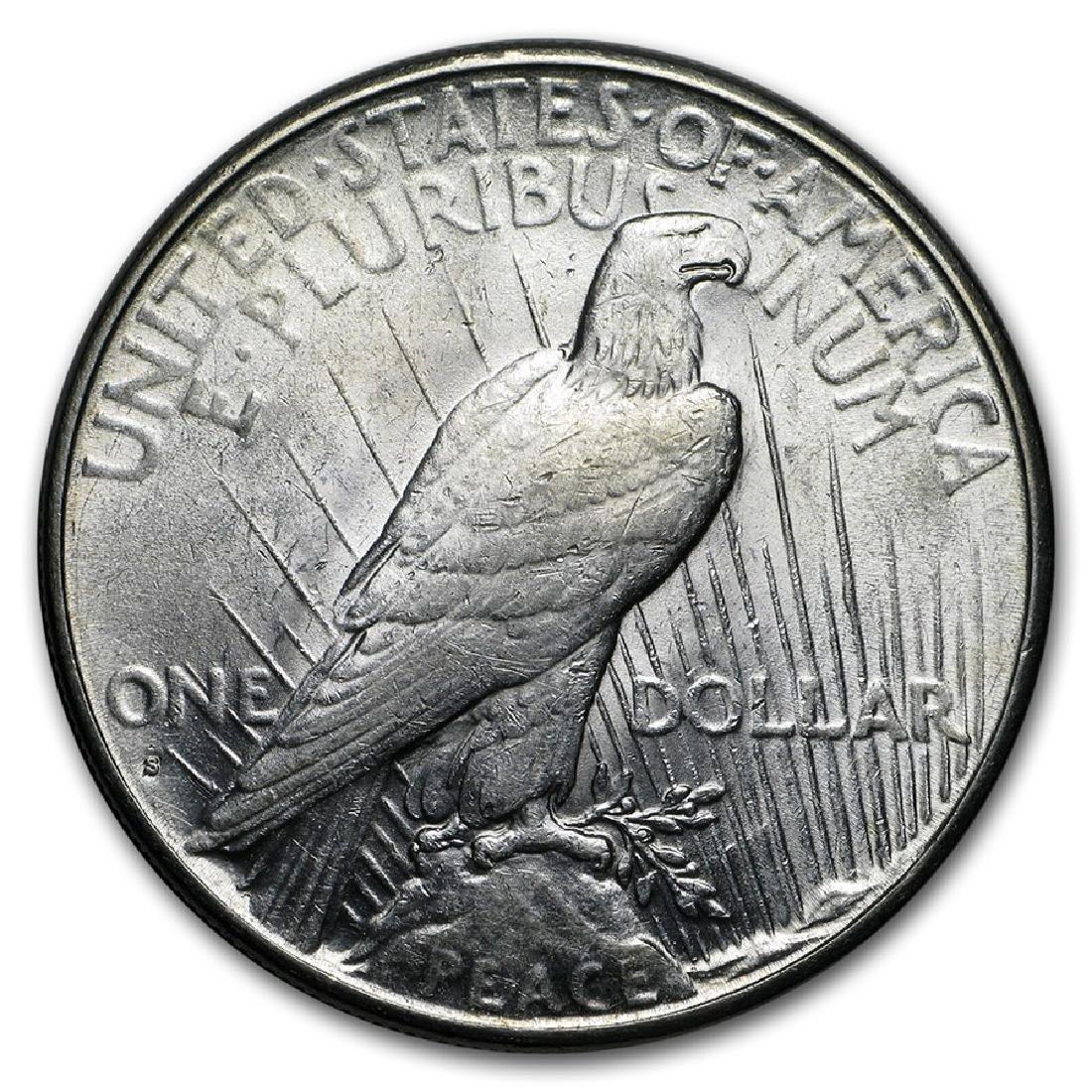 1926-S $1 Peace Silver Dollar Coin - 2