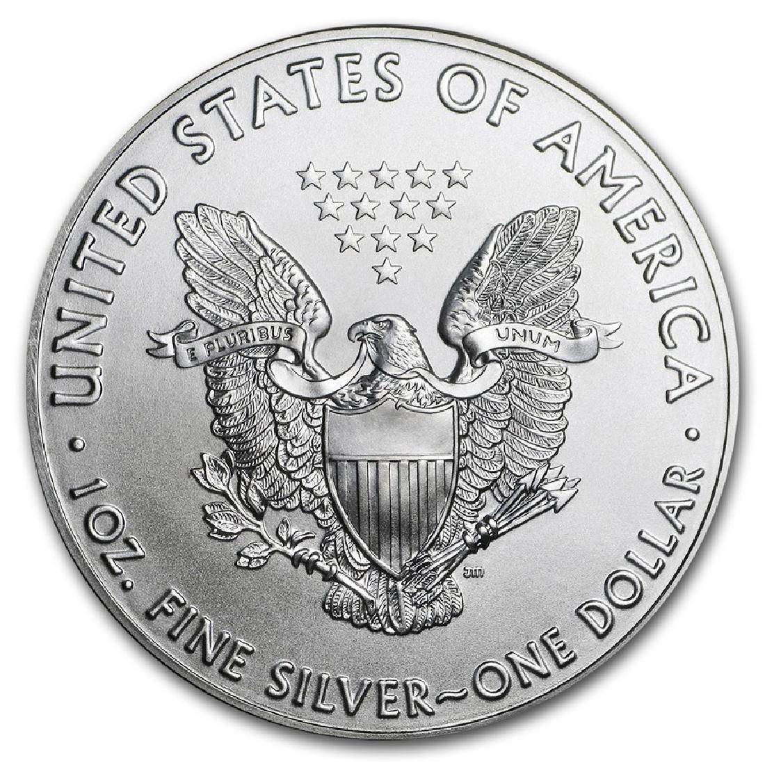 2016 1 oz American Eagle Silver Coin - 2