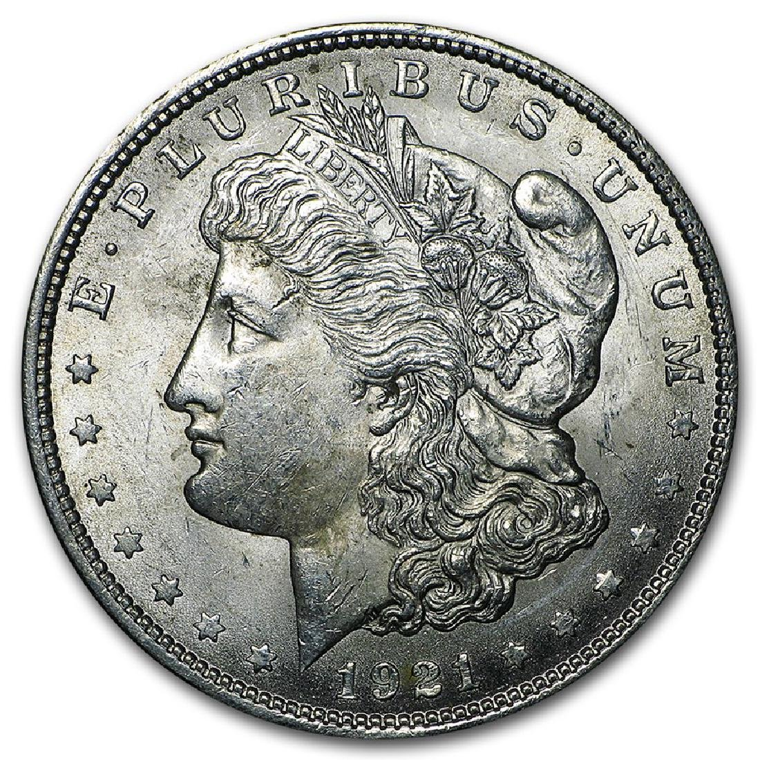 1921 $1 Morgan Silver Dollar Coin