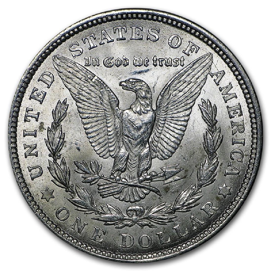 1921 $1 Morgan Silver Dollar Coin - 2