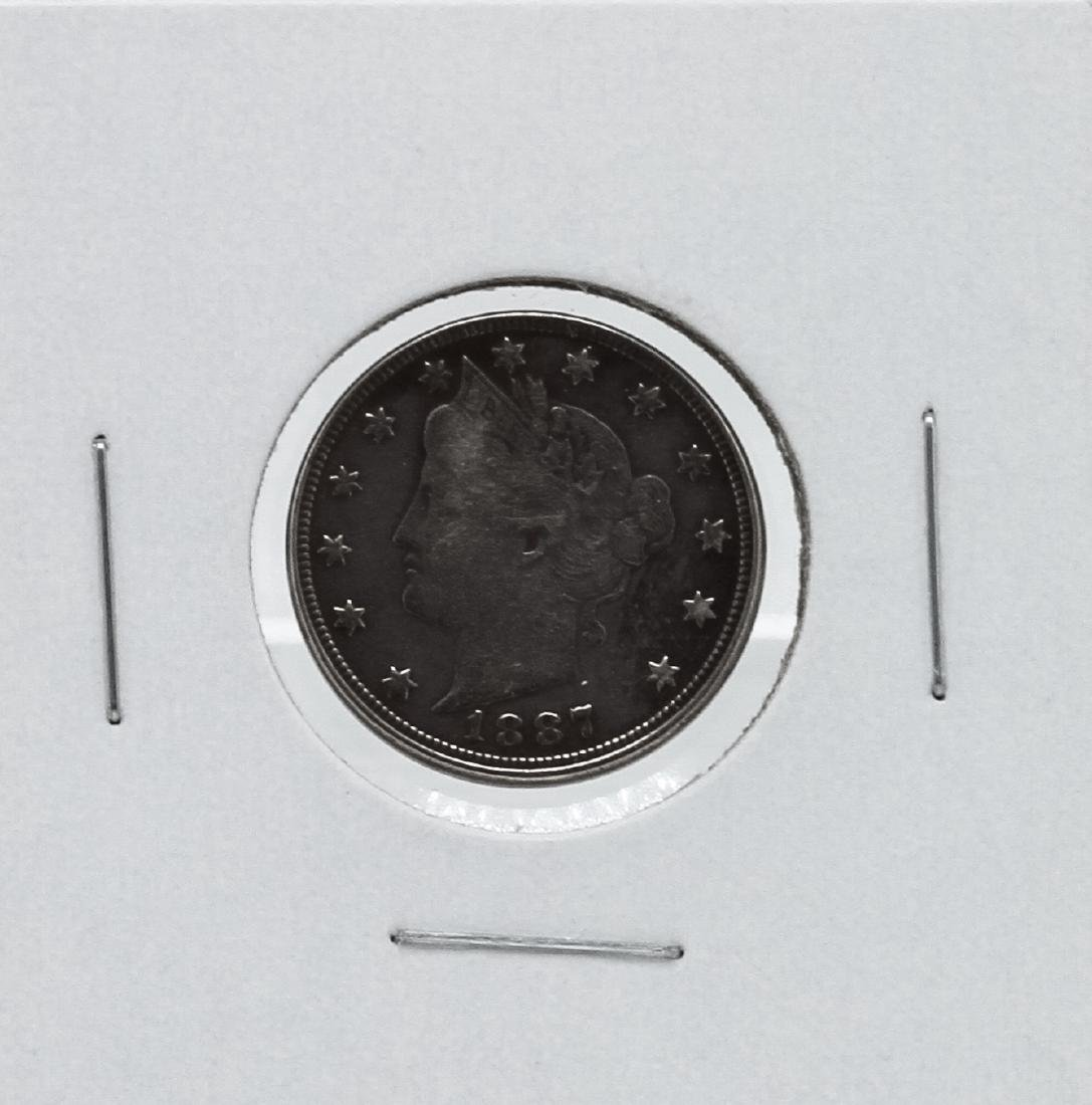 1887 Liberty Head V Nickel
