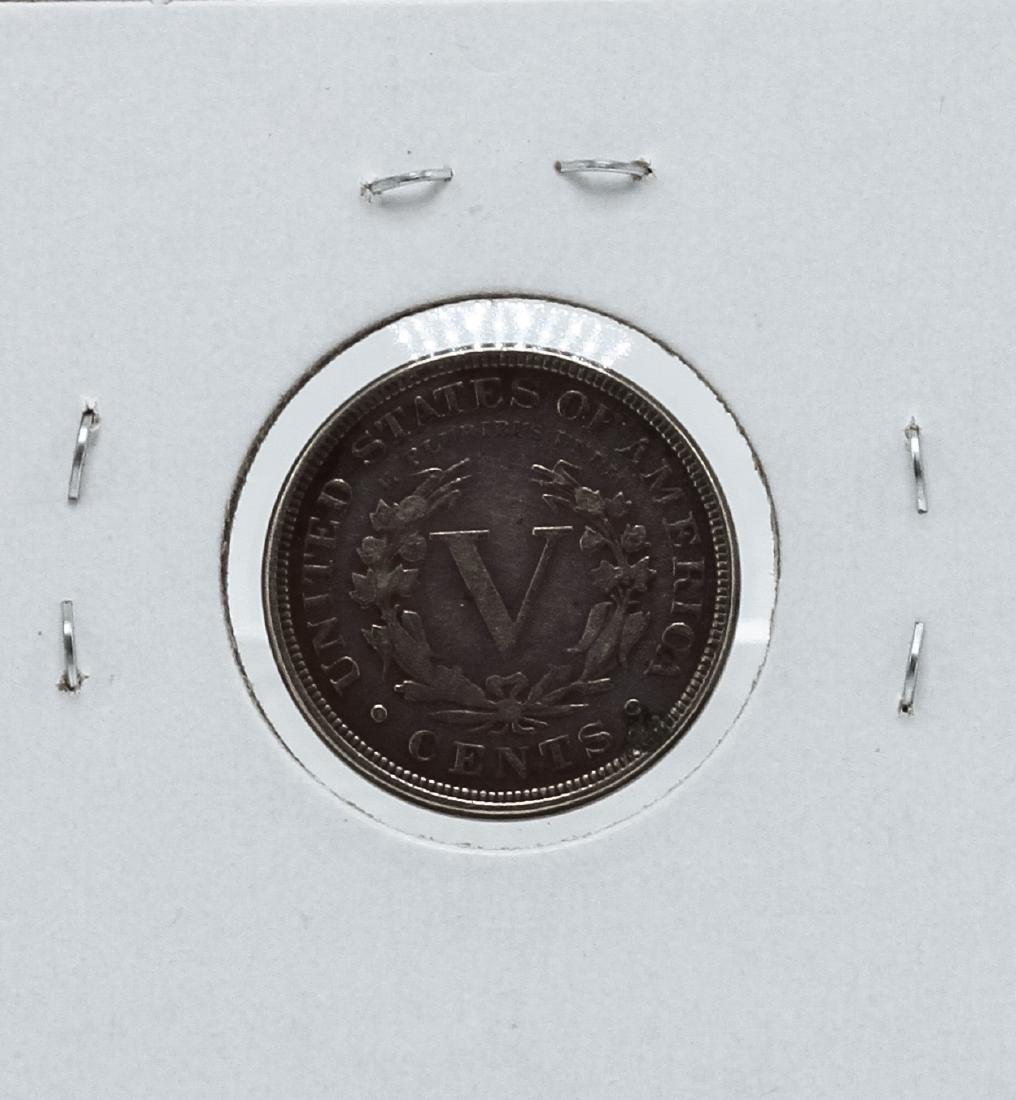 1887 Liberty Head V Nickel - 2