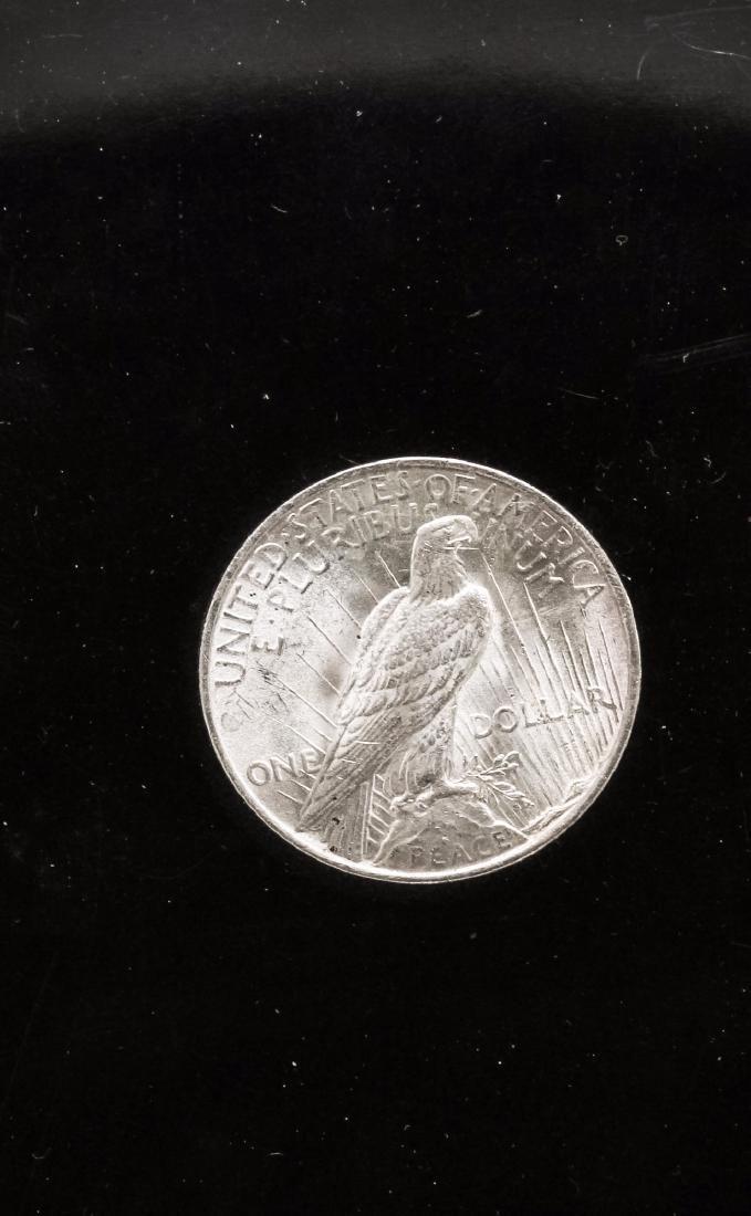 1922-P $1 Peace Silver Dollar Coin - 2