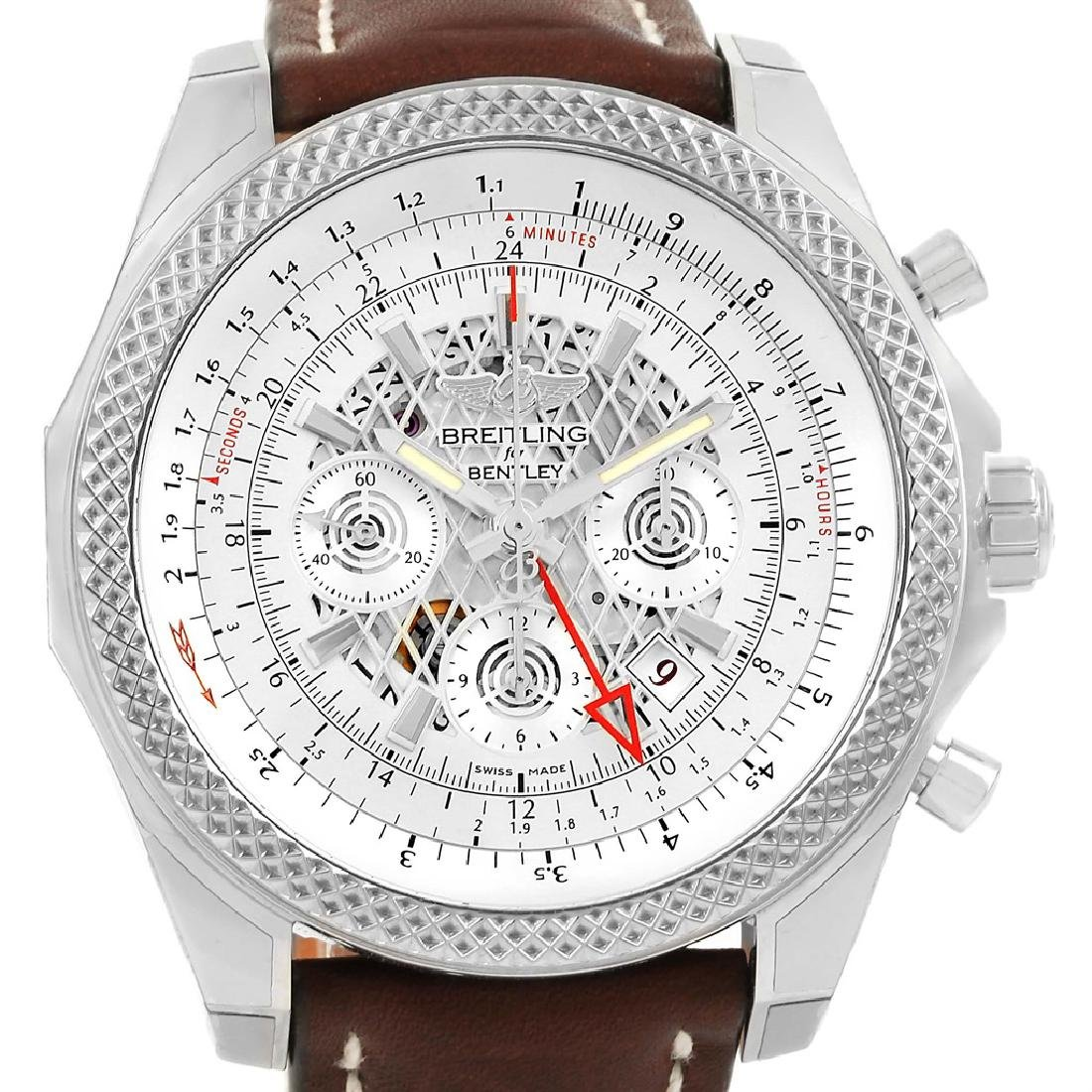 Breitling Bentley GMT Chronograph Mens Wristwatch - 2