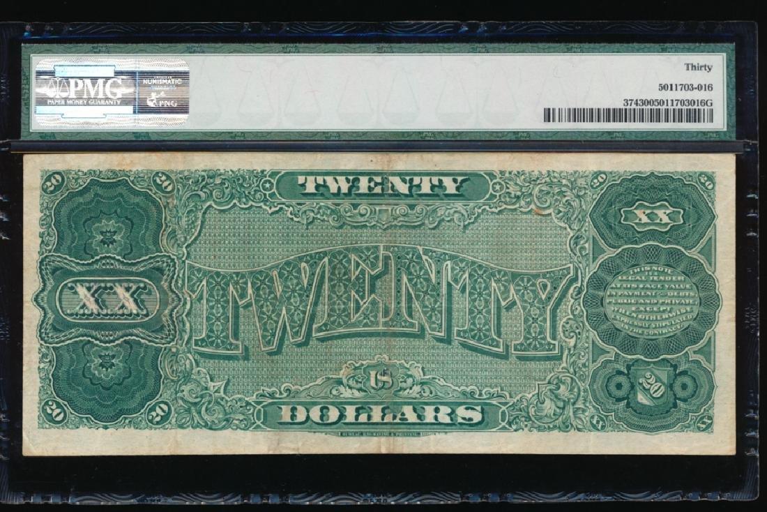 1890 $20 Treasury Note PMG 30 - 2