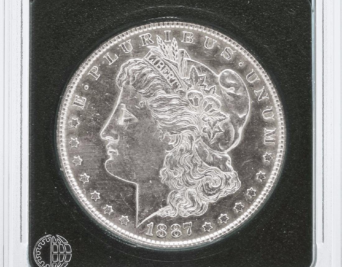 1887-S $1 Morgan Silver Dollar