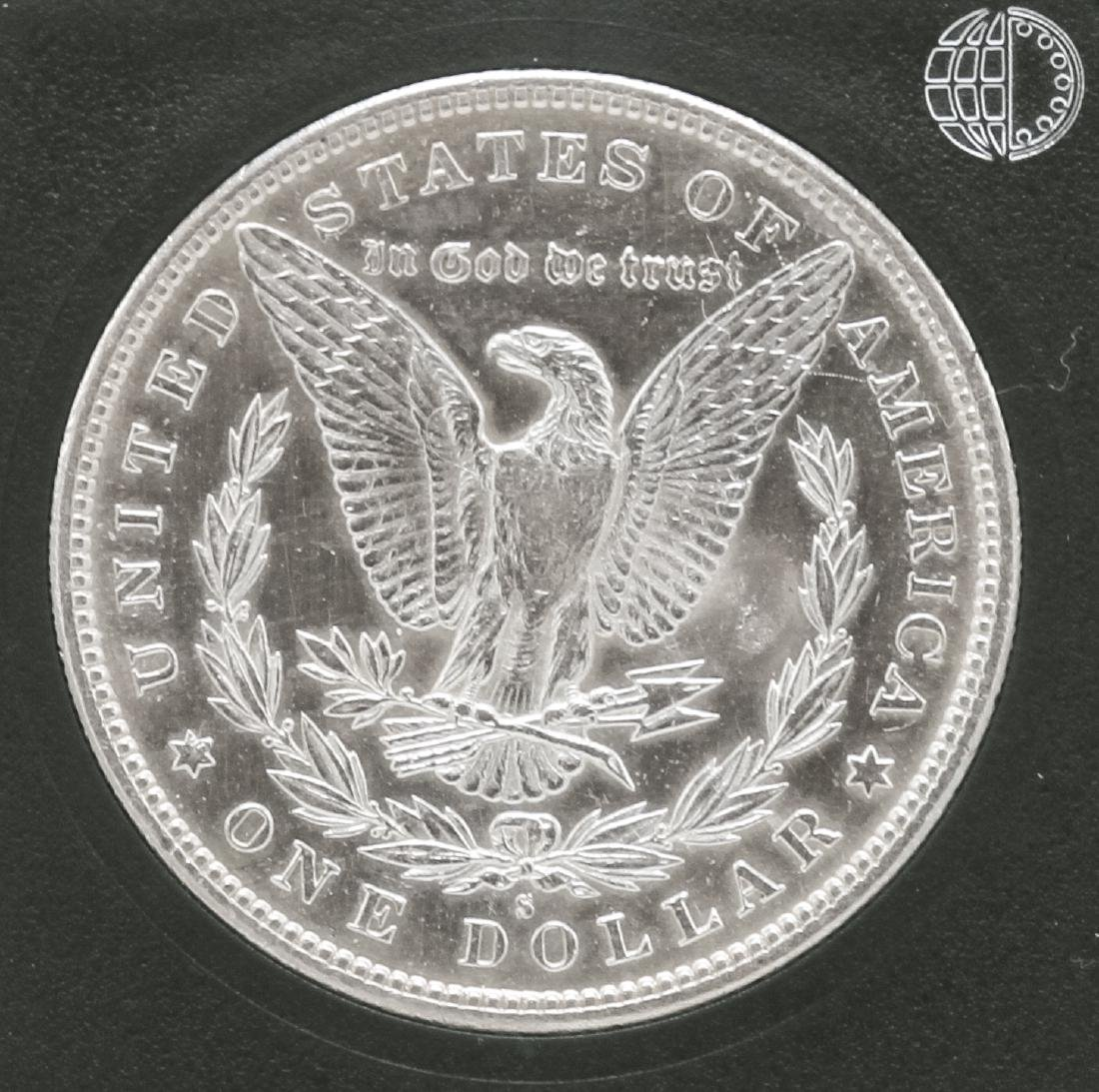 1887-S $1 Morgan Silver Dollar - 2