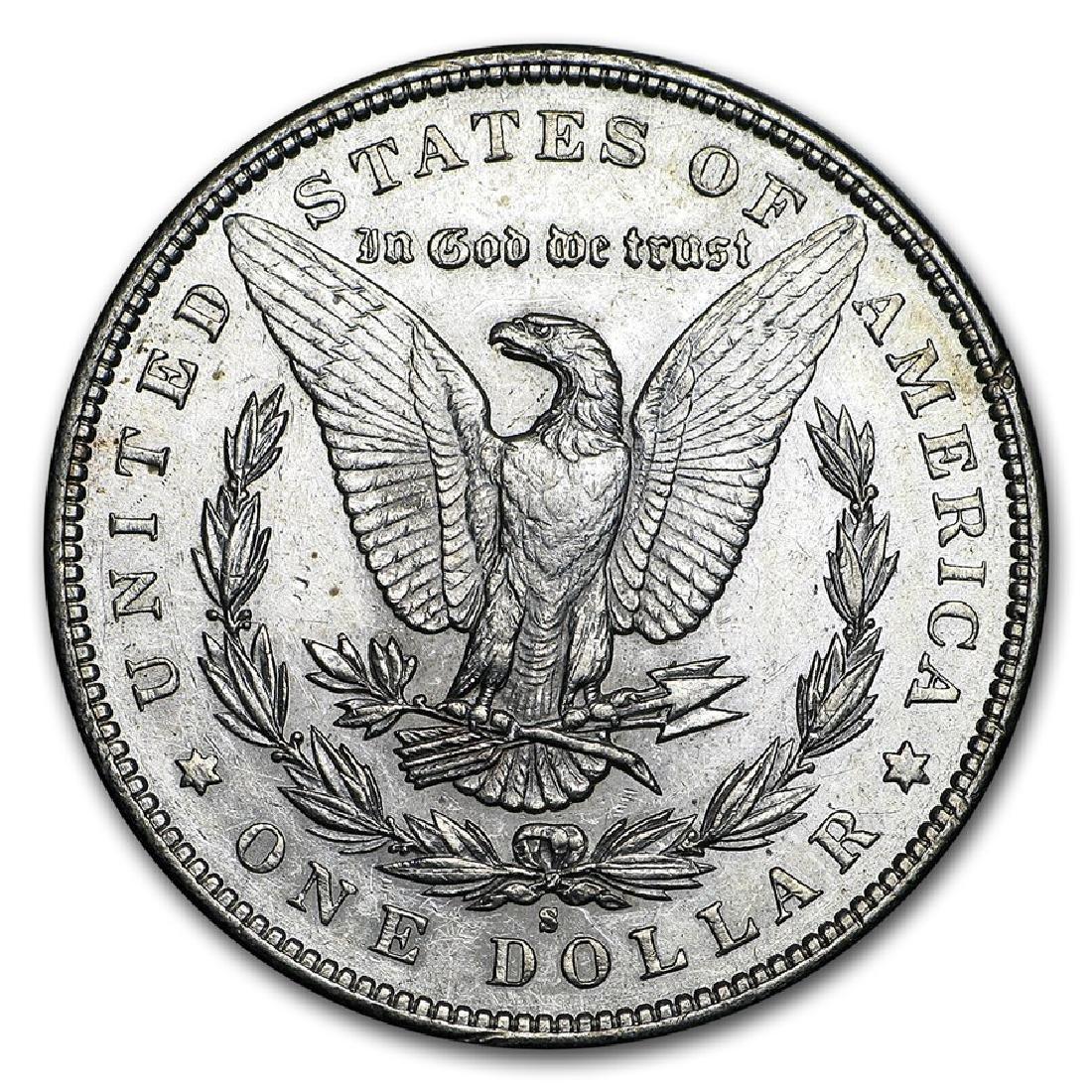1897-S $1 Morgan Silver Dollar Coin - 2