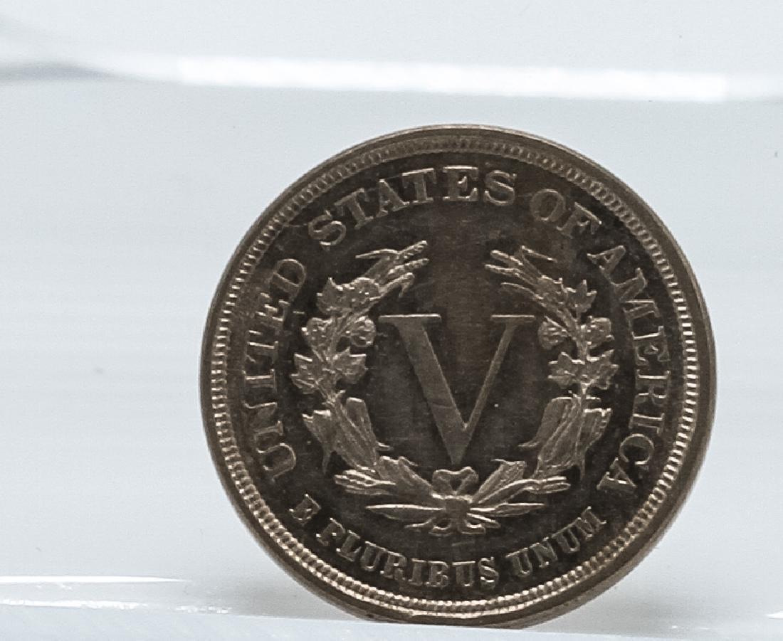 1883 Liberty Head V Nickel - 2