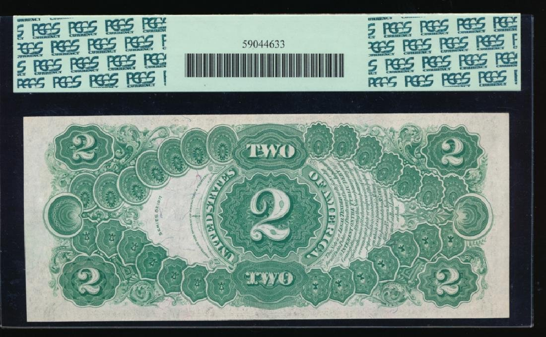 1917 $2 Legal Tender Note PCGS 64PPQ - 2