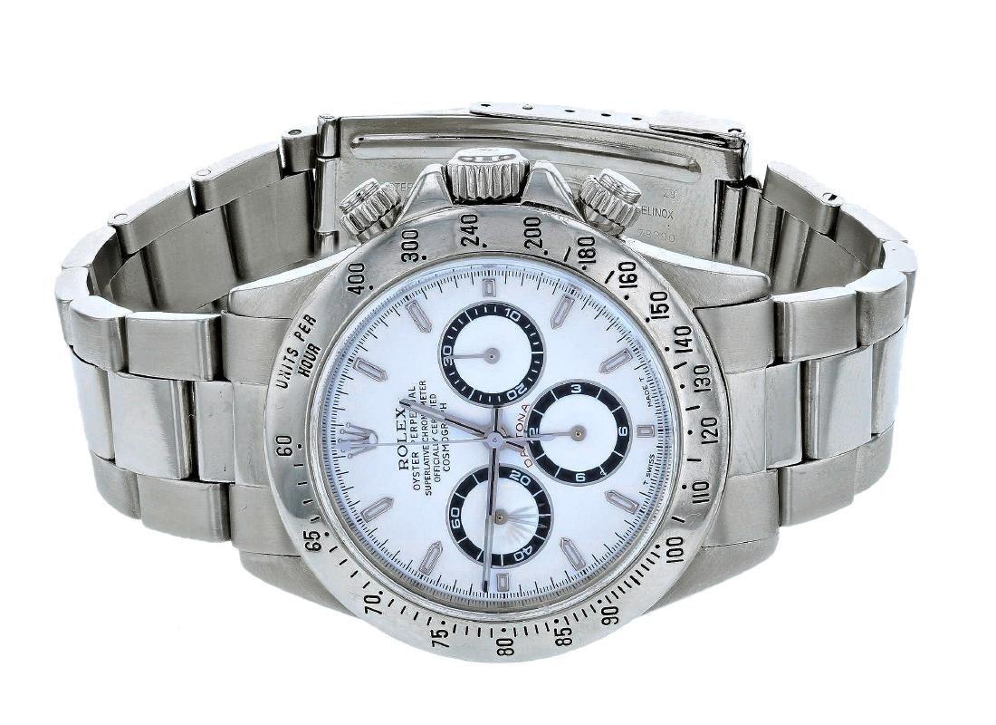 Rolex Daytona Stainless Steel Mens Wristwatch