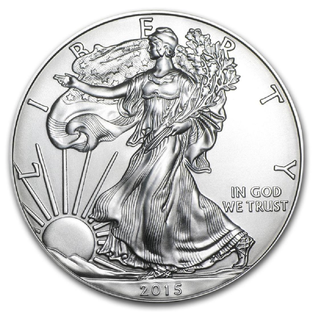 2015 1 oz American Eagle Silver Coin