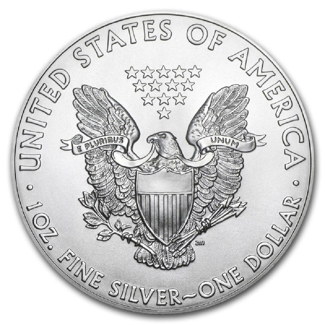 2015 1 oz American Eagle Silver Coin - 2