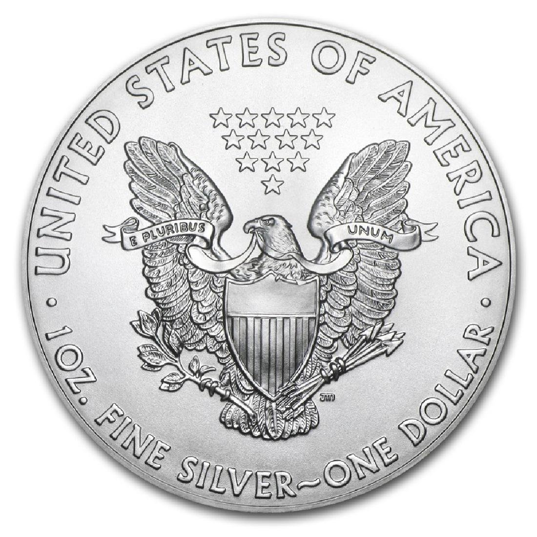 2017 1 oz American Eagle Silver Coin - 2