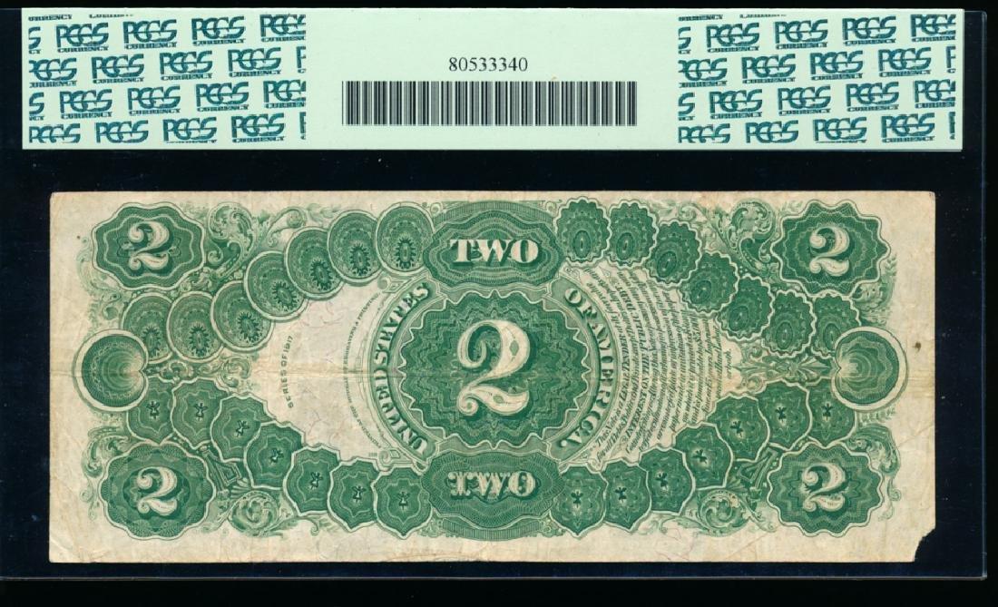 1917 $2 Legal Tender Note PCGS 20 - 2