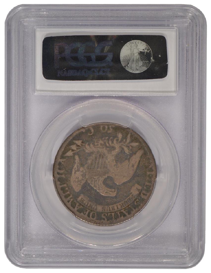 1813 Bust Half Dollar Coin PCGS G06 - 2