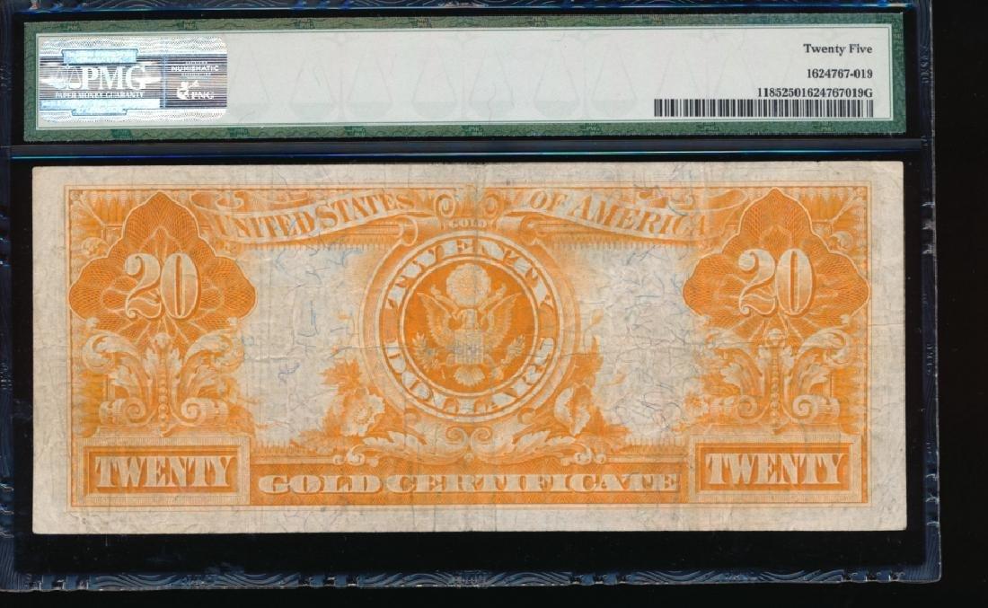 1922 $20 Gold Certificate PMG 25 - 2