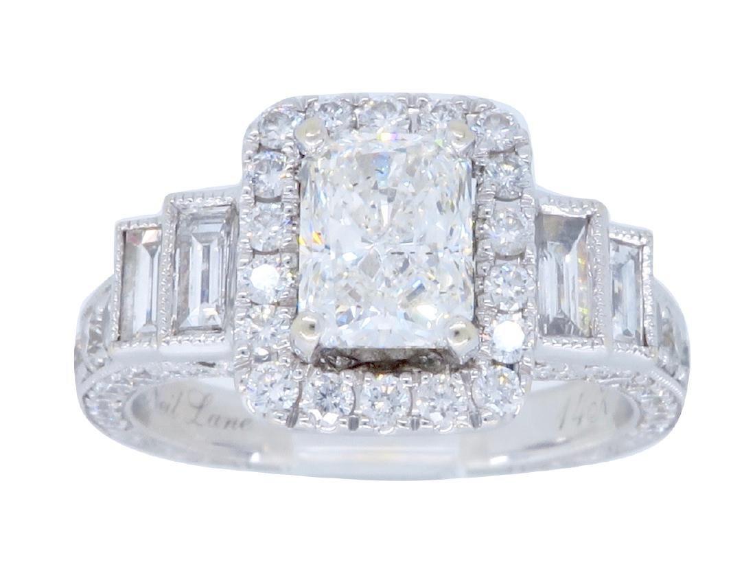 14KT White Gold 2.00ctw Neal Lane Diamond Ring