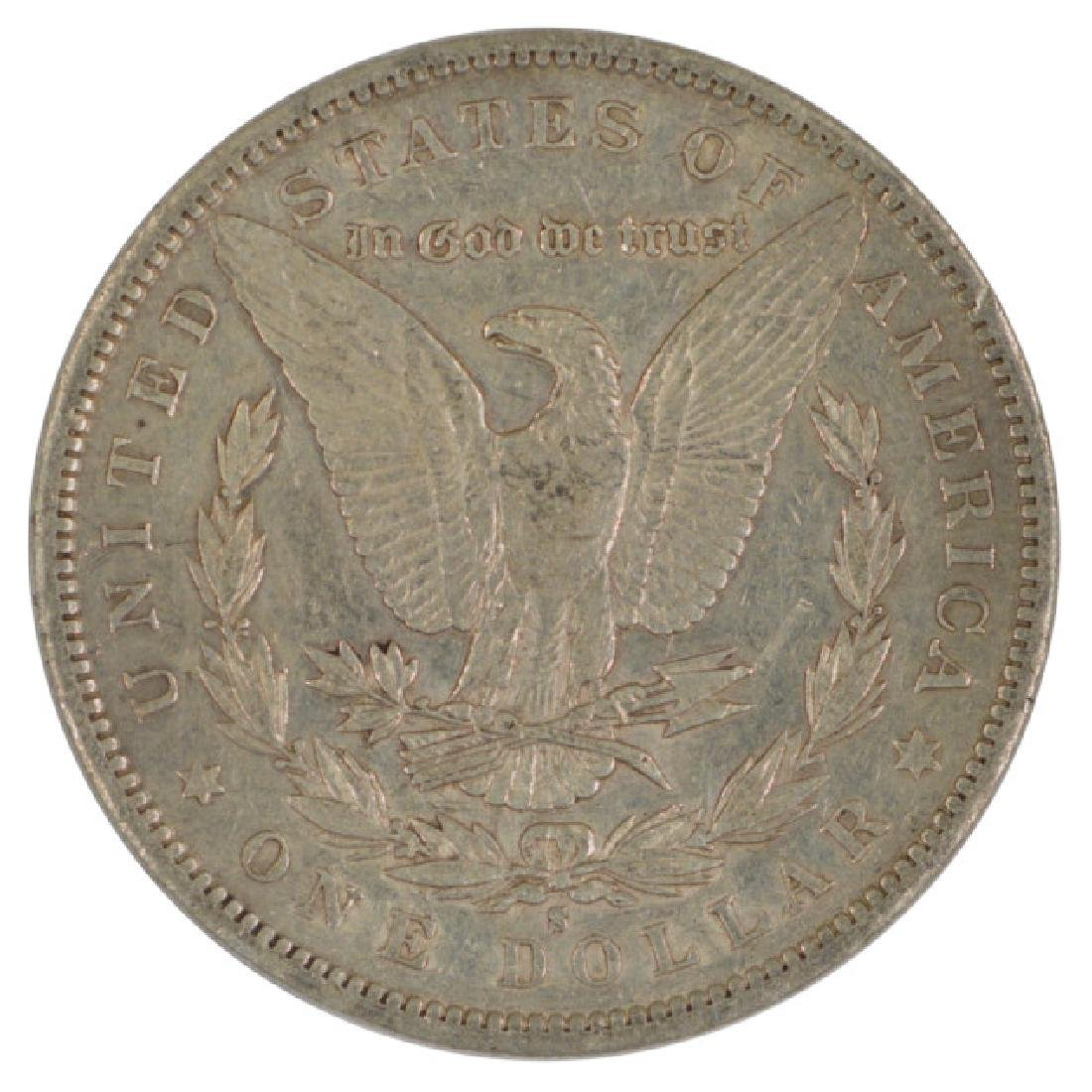 1897-S $1 Morgan Silver Dollar Coin - 2