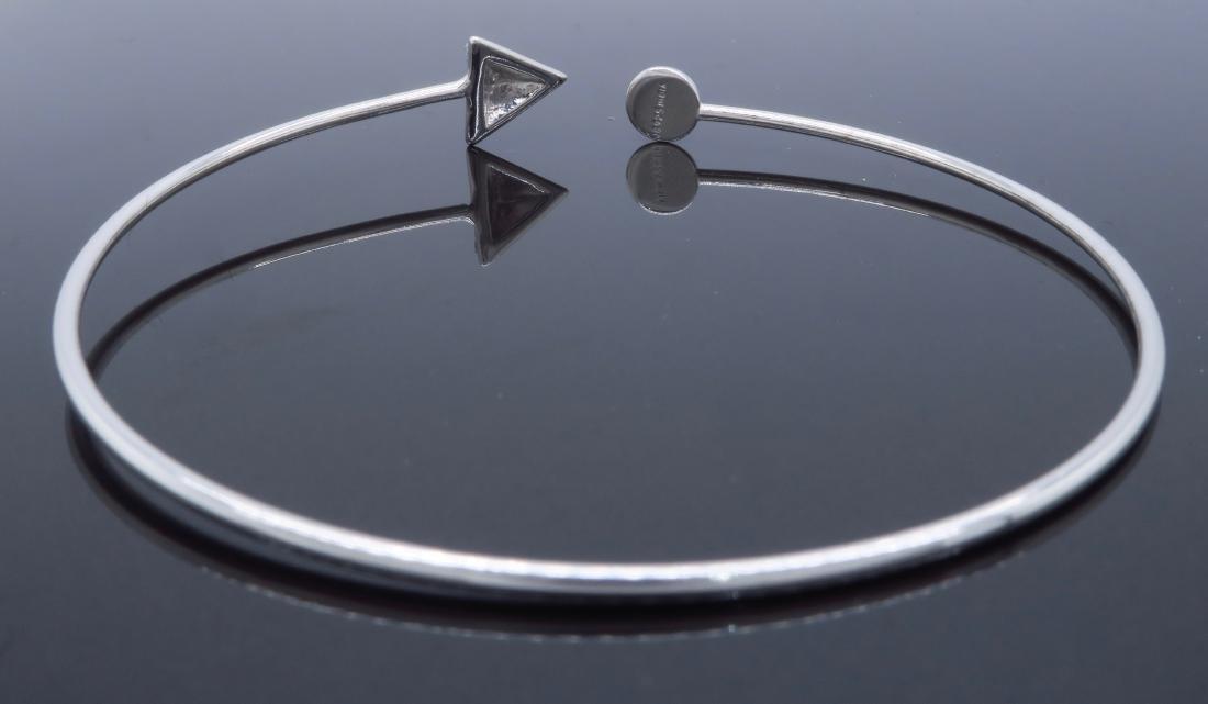 Sterling Silver Glitter Bracelet - 2