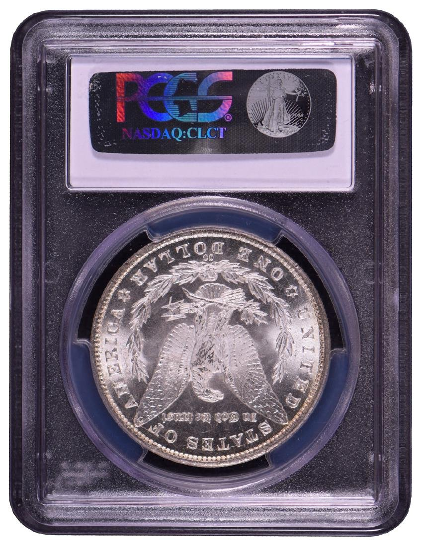 1881-CC $1 Morgan Silver Dollar Coin PCGS MS64 - 2