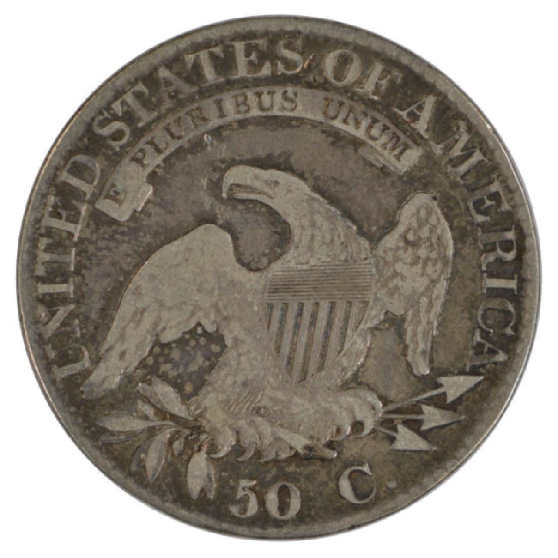 1823 Bust Half Dollar Coin - 2