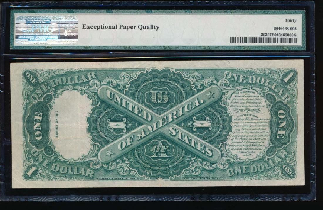 1917 $1 Legal Tender Note PMG 30EPQ - 2