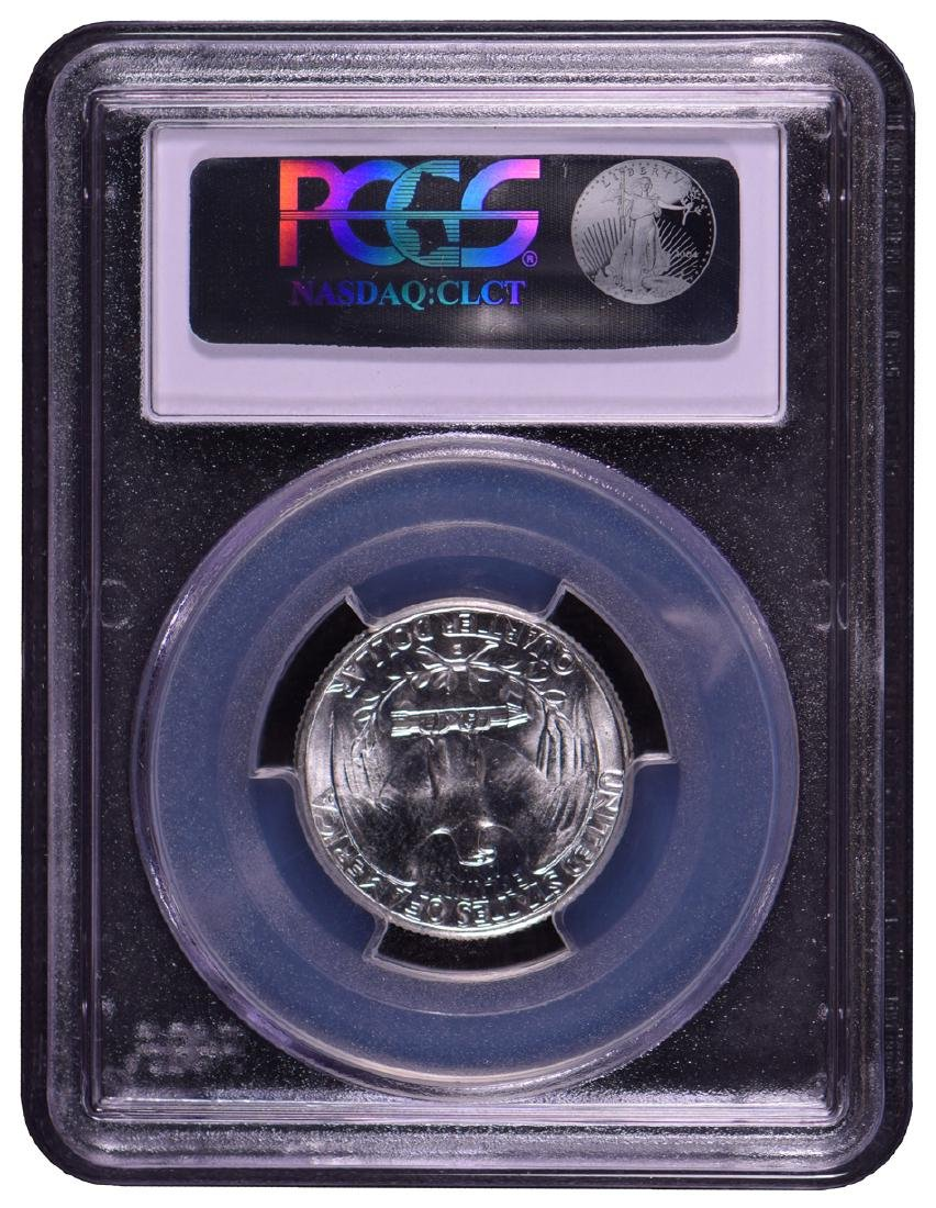 1942-D Washington Quarter Coin PCGS MS65 - 2