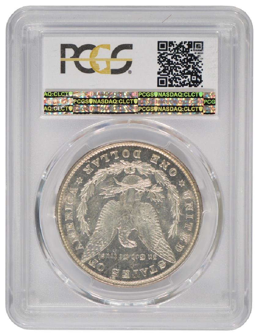 1878 8TF $1 Morgan Silver Dollar Coin PCGS MS63PL - 2