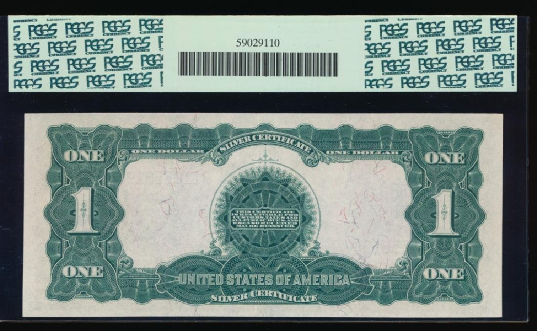 1899 $1 Black Eagle Silver Certificate PCGS 55PPQ - 2