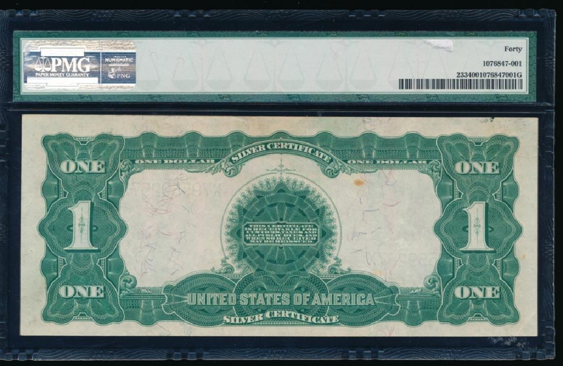 1899 $1 Black Eagle Silver Certificate PMG 40 - 2
