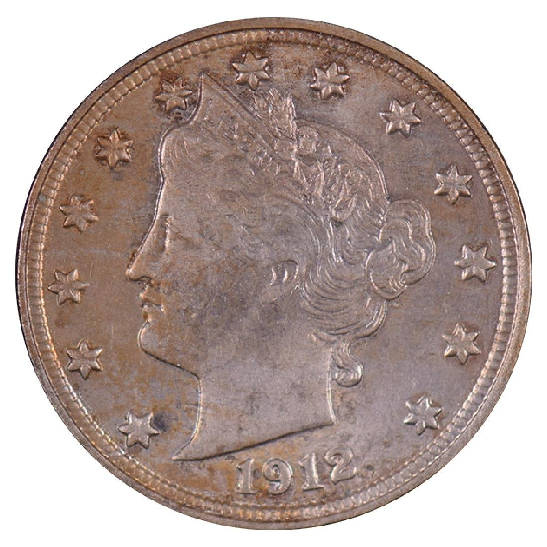 1912 Liberty Nickel Coin