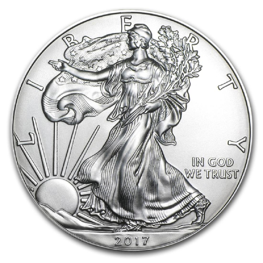 2017 1 oz American Eagle Silver Coin