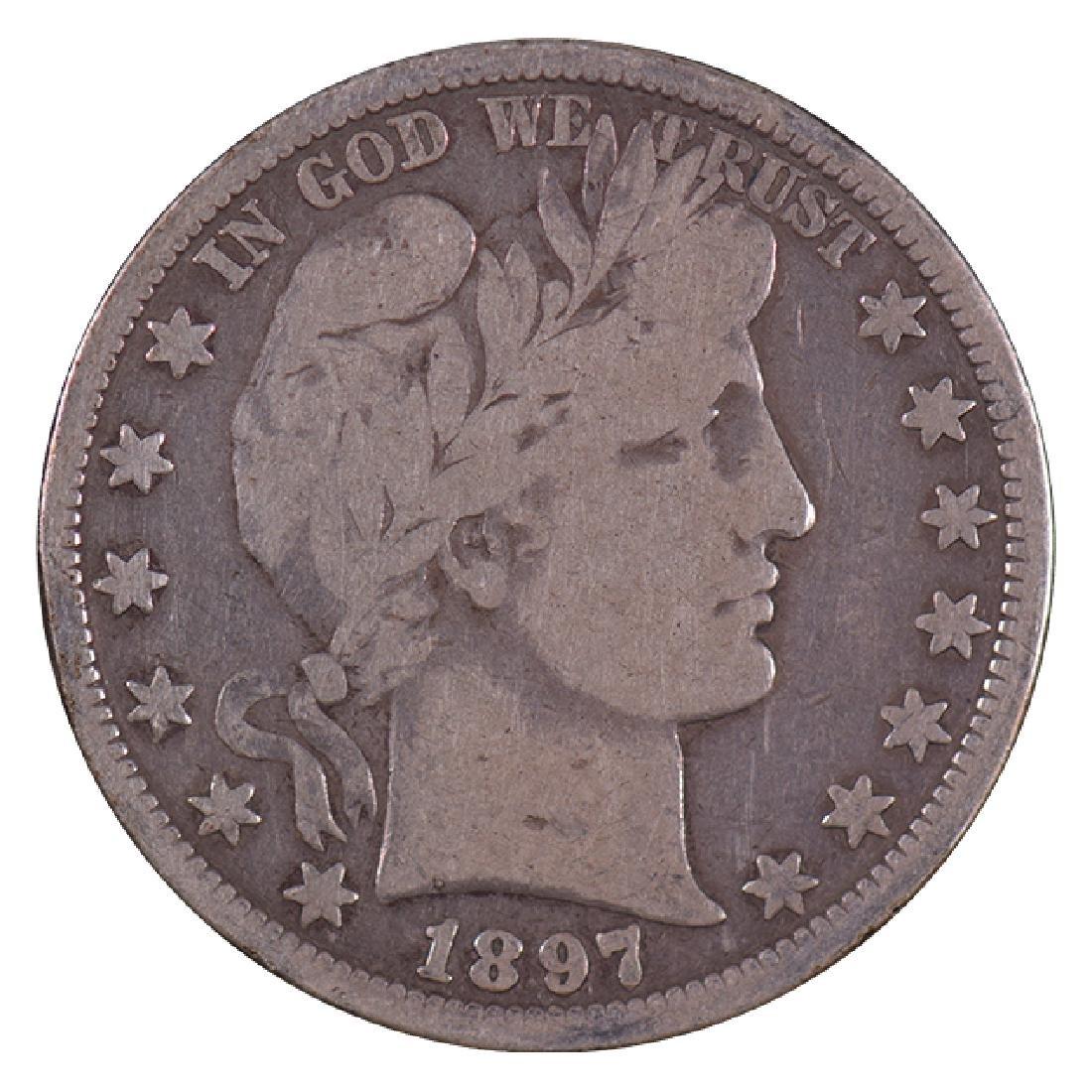 1897-O Barber Half Dollar Coin