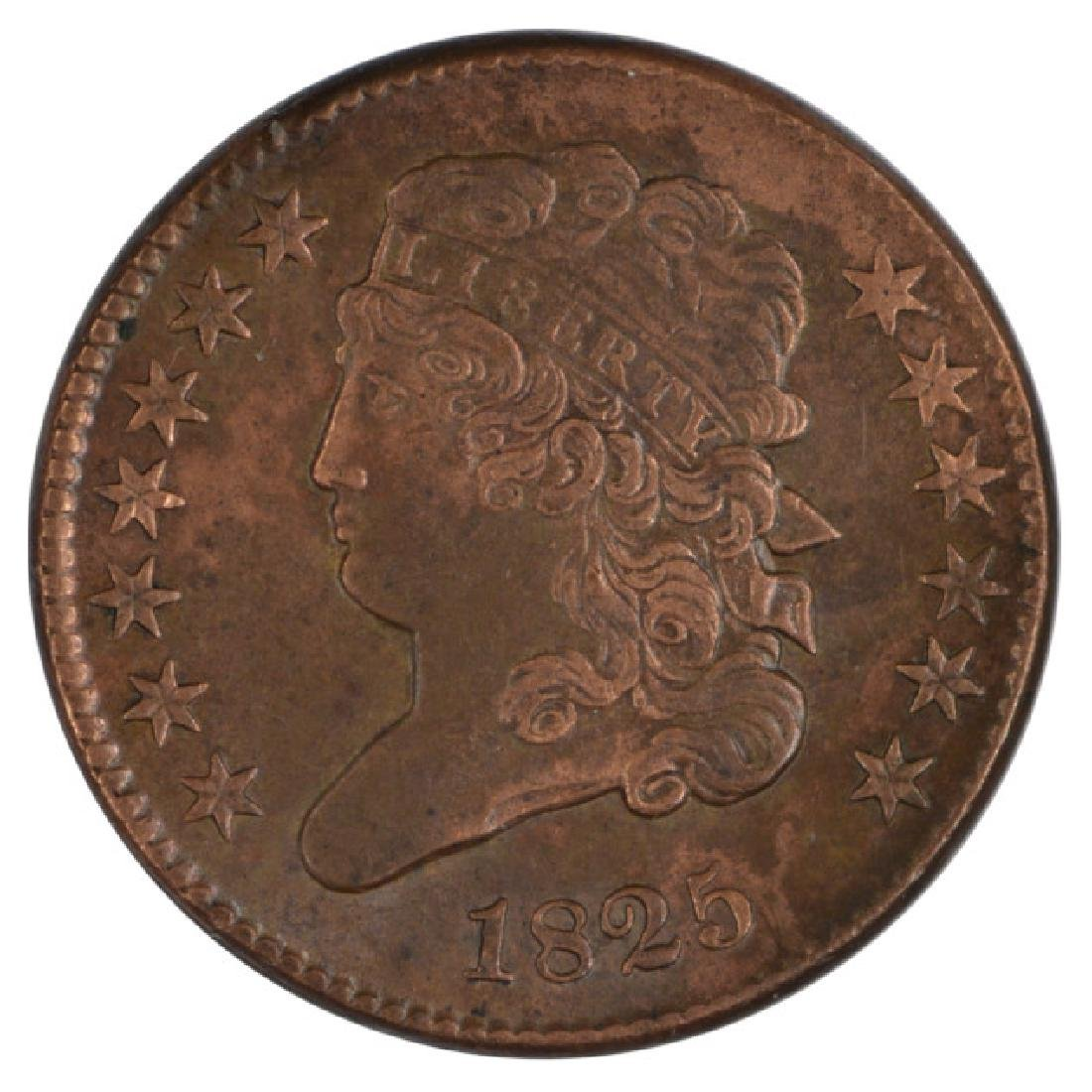 1825 Classic Head Half Cent