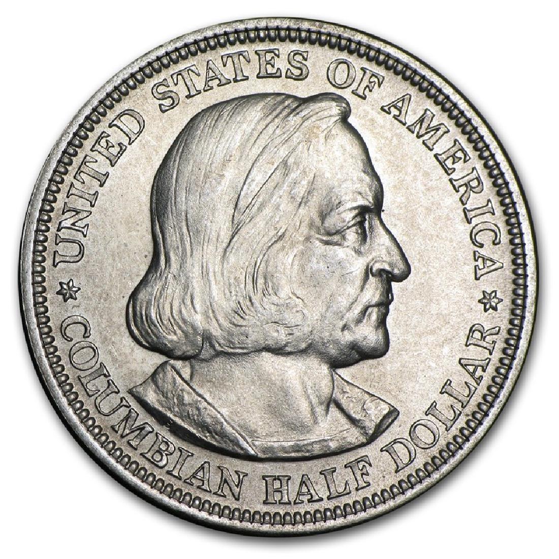 1892 Columbian Expo Silver Half Dollar Coin