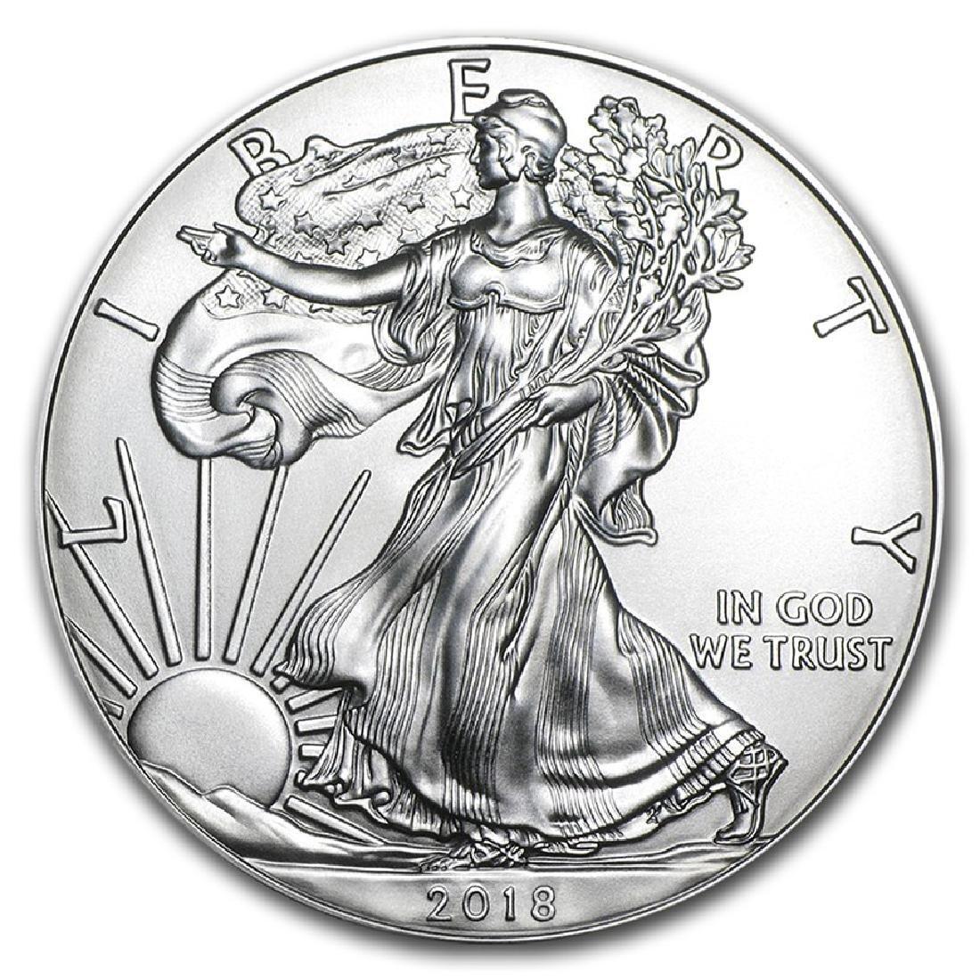 2018 1 oz American Eagle Silver Coin